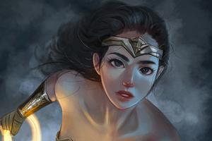 Wonder Woman Innoncent Eyes 4k Wallpaper