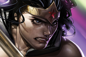 Wonder Woman JL Dark 11 Variant 4k Wallpaper