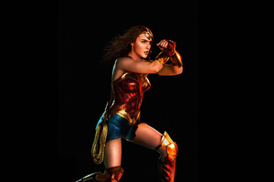 Wonder Woman Justice League 5k