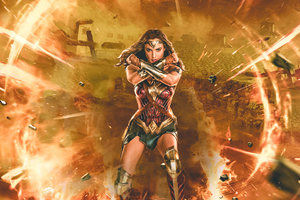Wonder Woman Justice League Synder Cut Wallpaper