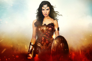 Wonder Woman Knight 12k Wallpaper