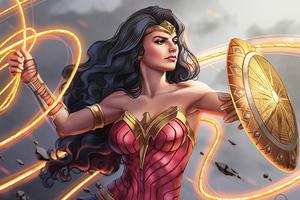 Wonder Woman Lasso 4k