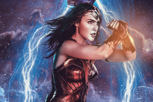 Wonder Woman Latest Art