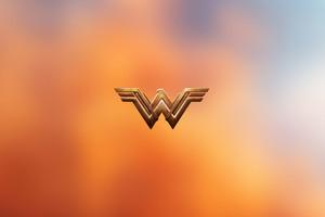 Wonder Woman Logo 4k Wallpaper