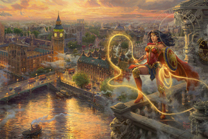 Wonder Woman London