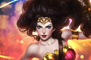 Wonder Woman Magical Eyes