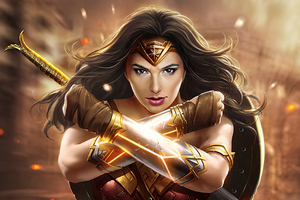 Wonder Woman Newart 2019 Wallpaper