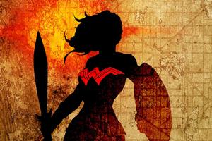 Wonder Woman Newart Minimal
