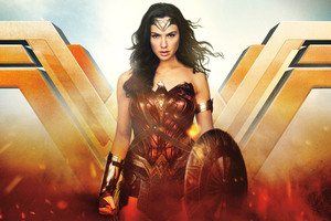 Wonder Woman Night Angel 12k Wallpaper
