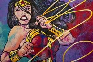 Wonder Woman Painting Arts 4k Wallpaper