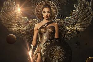 Wonder Woman Parallel Universe 4k Wallpaper