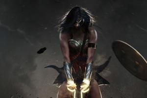 Wonder Woman Power Wallpaper