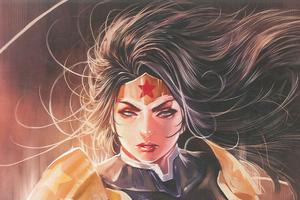 Wonder Woman Print 4k