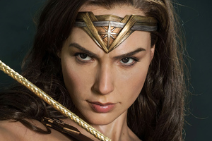 Wonder Woman Ready For Another Fight 4k