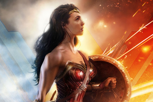 Wonder Woman Ready For Anything 4k
