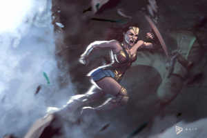 Wonder Woman Roar