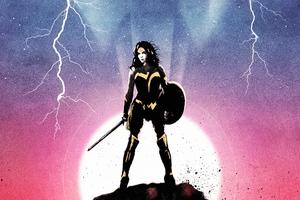 Wonder Woman Seeing 4k