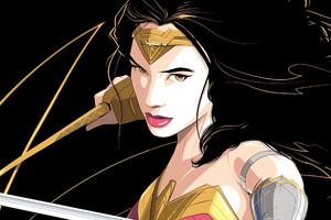 Wonder Woman Sketch Artwork New