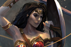 Wonder Woman Sketches