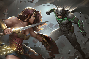 Wonder Woman Vs Batman