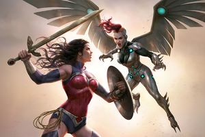 Wonder Woman Vs Silver Swan Wonder Woman Bloodlines 2020 4k