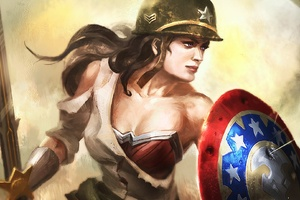 Wonder Woman Warrior