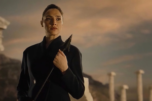 Wonder Woman With Arrow In Hand Zack Snyders Justice League 4k