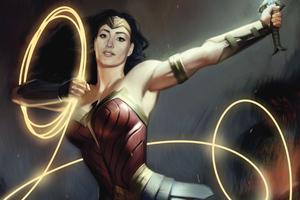 Wonder Woman With Powers 4k
