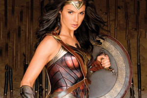 Wonder Woman With Shield