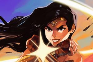 Wonder Woman Wrap 4k