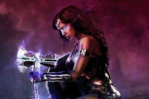 Wonder Woman X Strombreaker Wallpaper