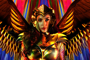 Wonder Woman1984 Movie Art
