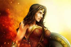 Wonder Woman4k Artnew Wallpaper