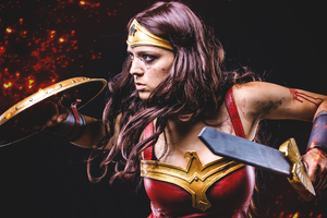 Wonder Woman4k Warrior
