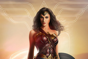 Wonder WomanArt Wallpaper