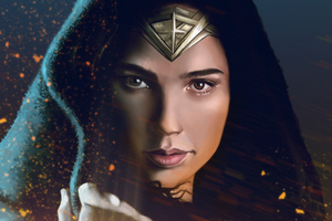 WonderWoman 4k Art