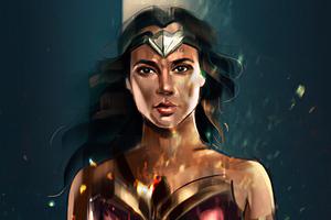 Wonderwoman 4kart