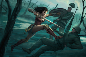 Wonderwoman Artwork