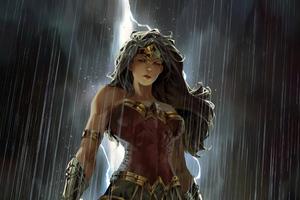 Wonderwoman Digital Art