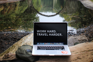 Work Hard Travel Harder Wallpaper