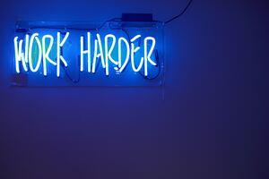 Work Harder Neon