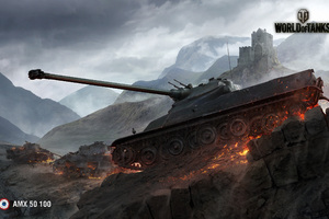 World Of Tanks AMX 50