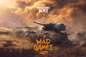 World Of Tanks Blitz Mad Games 2018 5k Wallpaper
