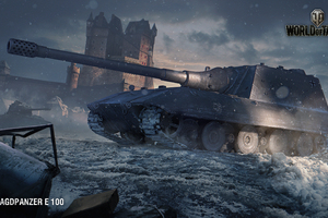 World Of Tanks Game Poster