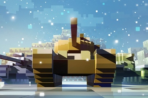 World Of Tanks Pixels Wallpaper