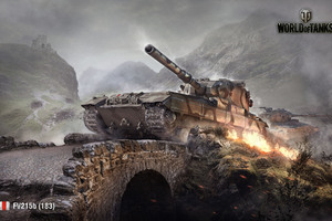World Of Tanks Wide Wallpaper