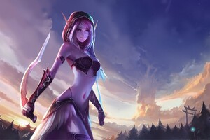 World Of Warcraft Anime Girl
