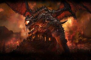 World Of Warcraft Dragon Wallpaper