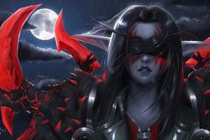 World Of Warcraft Night Elf 4k Wallpaper