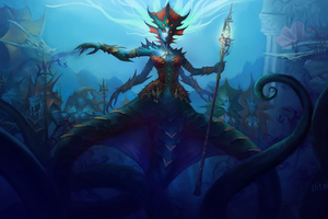 World Of Warcraft Queen Azshara 8k